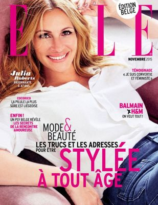 Article Magazine ELLE - novembre 2015